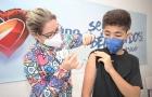 Vacinação contra Covid no Sólido